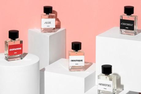一个传统却很时尚的系列香水包装设计欣赏