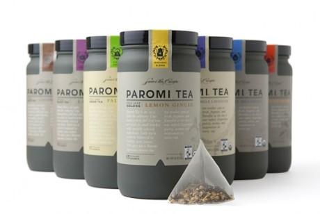 Paromi品牌工艺茶包装设计