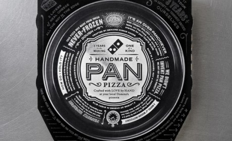 Domino's手工比萨包装设计