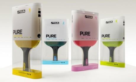瑞典STIGA品牌乒乓球拍包装设计