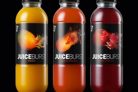 JuiceBurst饮料包装设计欣赏