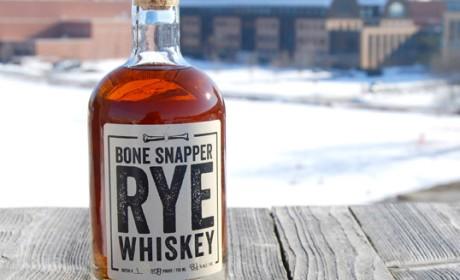 Bone Snapper Rye威士忌包装设计