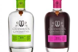 Greenhook Ginsmiths酒包装设计