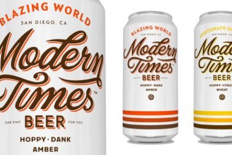Modern Times 啤酒包装设计