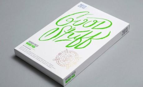 """一款名为""""好东西""""的设计师作品集锦包装设计"""