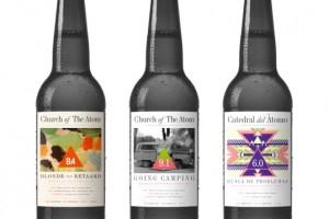 nano酿酒厂的插画、酒标和包装设计