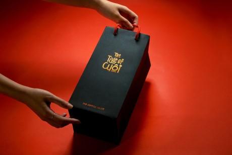 "The Coffee House ""油画插画风格""限量版月饼礼盒包装设计"