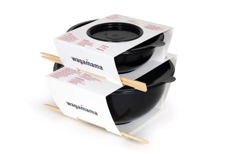 Wagamama外卖品牌包装设计