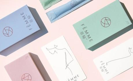 Fémme非秘卫生棉条包装设计