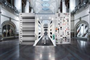 Nordiska博物馆条纹主题展览设计