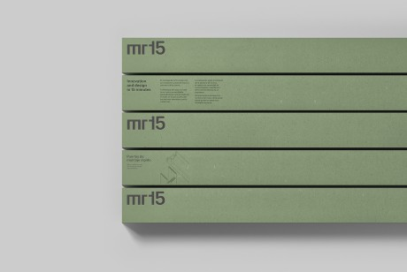 Mr15品牌门框logo和包装设计