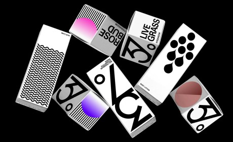 37°Bio Premium化妆品巴黎品牌包装设计