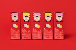 包装风格的物质因素和非物质因素-Fazer Carneval包装设计