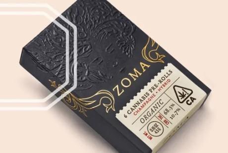 2019年Dieline Neenah论文奖得主:Zoma Cannabis-大麻产品包装设计