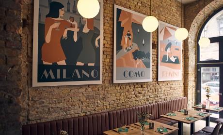 Belli di Mamma 餐厅品牌视觉设计
