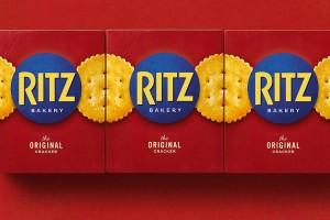 Ritz Crackers黄油盐渍脆饼干包装设计