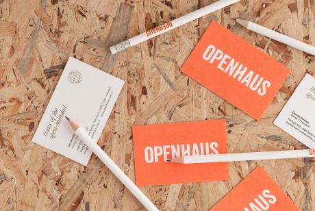 OPENHAUS品牌形象和包装设计全案设计