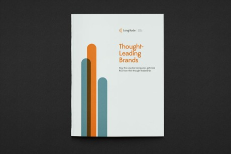 Longitude 思想领先的品牌研究报告画册设计