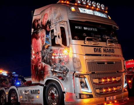有史以来最大的卡车节在英格兰东部竞技场举行