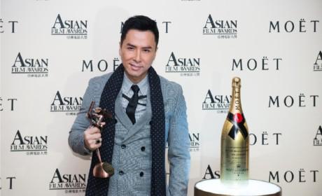 酩悦香槟赞助的亚洲电影大奖招待会致敬电影行业著名人物