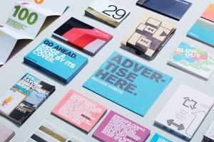 Prefix当代艺术学院宣传材料设计
