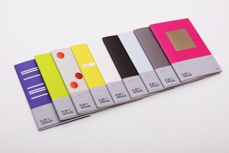 Pop'Set纸系列记事簿设计