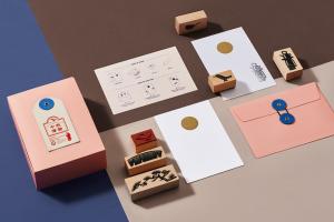 """""""中秋惜物""""月饼礼盒包装设计"""