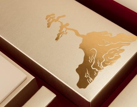 尊瑰至礼高端月饼礼盒设计