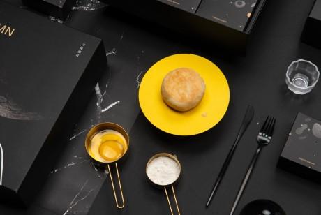 四时五味中秋礼盒月饼包装设计