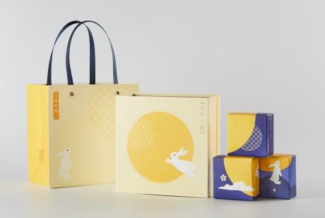 艾格吃饱了· 中秋小饼 2018月饼包装设计