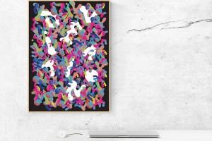 创意海报设计使用出色的功能来达到效果