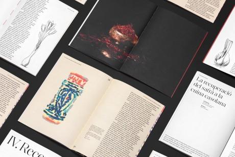 藏红花画册设计