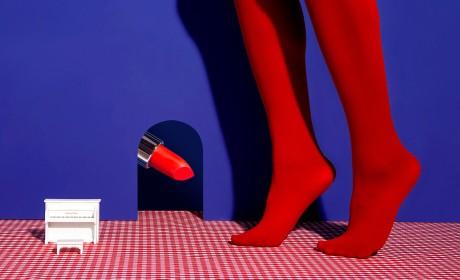 一款概念美口红包装视觉设计