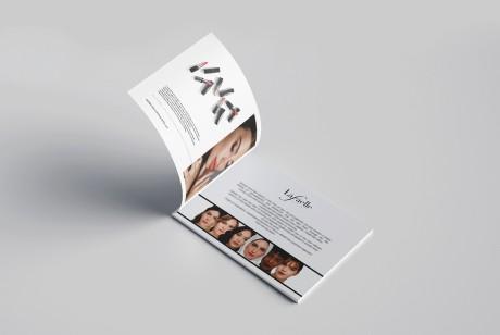 奢华口红宣传画册设计