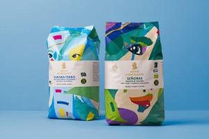 瑞典Arvid Nordquist品牌咖啡包装设计