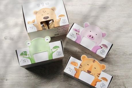 森林面食宝宝面包装设计