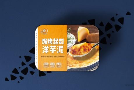 Costco 享点子焗烤起司马铃薯泥包装设计