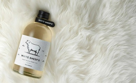 新西兰White Sheep Co蒸馏奶包装标签设计