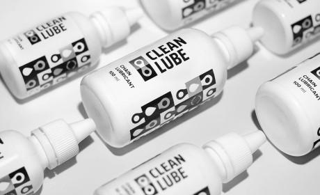 精心设计的Clean Lube自行车链条润滑剂包装