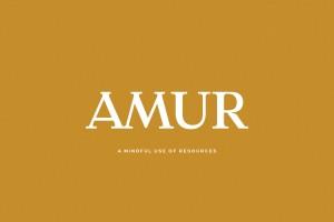 纽约Amur时尚品牌识别设计