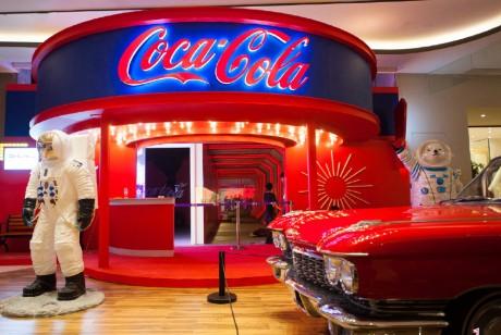 可口可乐世界·未来乐园被万人疯狂打卡
