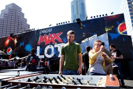 百事MAX在西南偏南音乐节上也很能玩嘛!