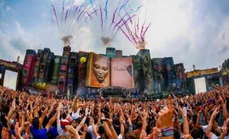 智慧之书:2012比利时Tomorrowland电子音乐节酷呆了