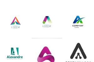 A字母logo设计,企业形象设计公司的新理念