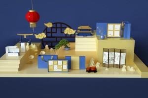 来看看这款越南中秋节的月饼包装设计,发现不一样的异国风情