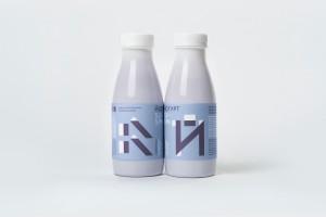 极致简约的儿童酸奶包装设计