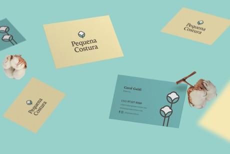 如何选择深圳品牌VI设计公司?Pequena Costura品牌设计