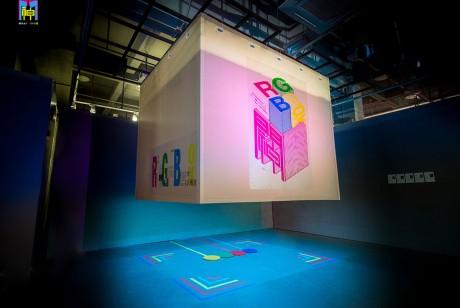 音乐节互动内容空间《RGBox》展览策划