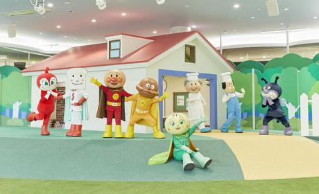 面包超人博物馆乐趣更多了