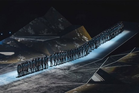 多边形投影舞台设计简直是美炸了!